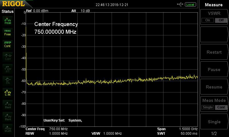 Spectrum Analyzer - Rigol DSA815 - Page 34